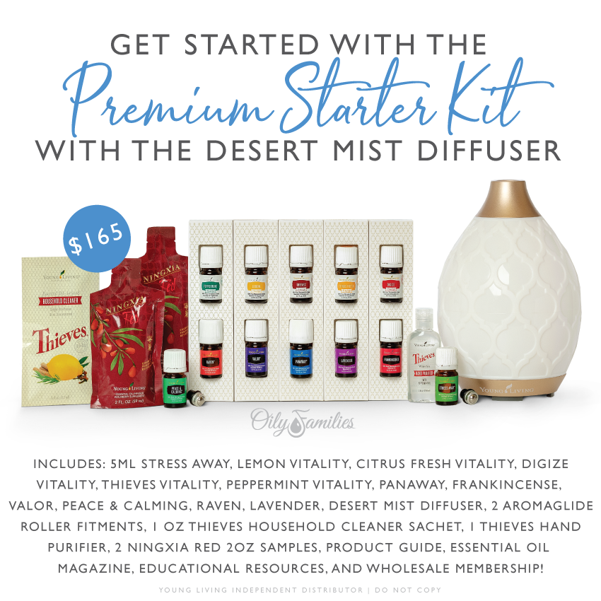 get started with the premium starter kit